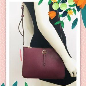 NWT Kate Spade Adel Medium top Zip Crossbody Bag